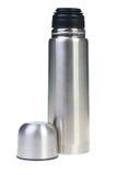 金属热水瓶 库存照片