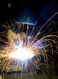 金属焊接 库存照片