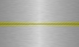 金属片的alluminium 免版税库存图片