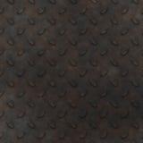 金属片背景的金刚石 免版税库存照片