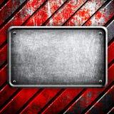 金属片背景的grunge 免版税图库摄影