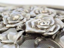 金属玫瑰 免版税库存图片