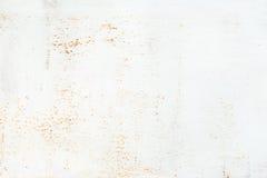 金属生锈的白色 库存照片