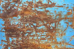 金属生锈的纹理 免版税库存图片