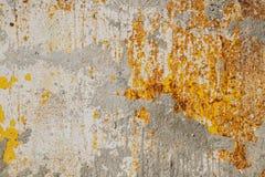 金属生锈的表面 免版税图库摄影