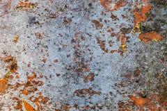 金属生锈的表面 图库摄影