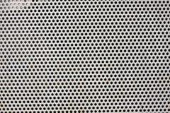 金属用栏杆围的点纹理 图库摄影