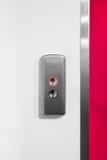 金属电梯按钮 免版税库存照片