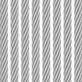 金属电缆白色 库存照片