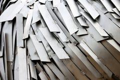 金属的抽象构成 免版税图库摄影