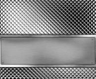 金属的横幅 免版税库存图片