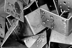 金属的背景 免版税库存图片