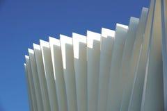 金属的建筑 现代结构金属 库存图片