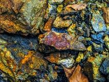 金属矿物石头 库存图片