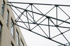 金属管子停止  免版税图库摄影