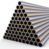 金属管道 库存例证