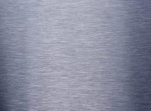 金属纹理的掠过的发光的表面 图库摄影