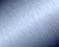 金属纹理的掠过的发光的表面 库存照片