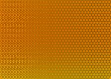 金属纹理蜂窝背景 向量例证