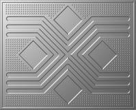 金属纹理 免版税库存图片