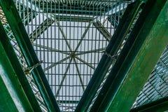 金属结构摘要 免版税库存图片