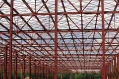 金属结构的铁 免版税库存图片