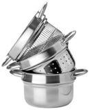 金属罐 免版税库存图片