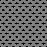 金属网格无缝的模式 免版税库存照片