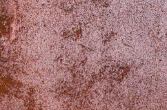 金属老生锈的表面 免版税图库摄影