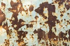 金属老生锈的表面 免版税库存图片