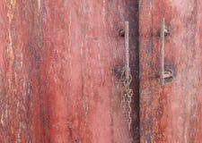 金属腐蚀-铁锈纹理背景 免版税库存图片