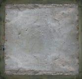 金属葡萄酒灰色生锈的难看的东西的铁 免版税库存图片