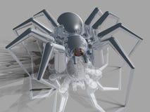 金属蜘蛛 库存照片