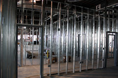 金属螺柱构成 免版税库存照片