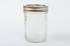 金属螺盖玻璃瓶 免版税库存照片