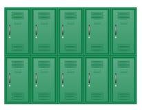 金属衣物柜储蓄传染媒介例证 皇族释放例证