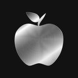 金属象-苹果 免版税库存图片