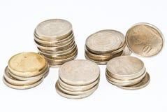 金属货币 库存图片