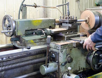 金属运转的设备 免版税库存照片