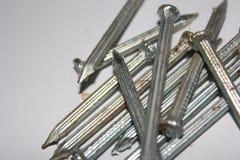 金属钉子 库存图片