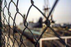 金属铁丝网 库存图片