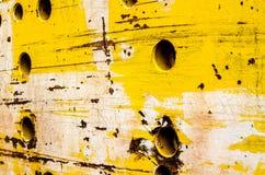 金属铁锈减速火箭的纹理背景 免版税库存照片