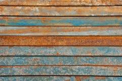 金属铁锈表面 免版税库存照片