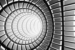 金属隧道 库存例证