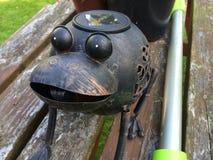 金属青蛙 免版税库存图片