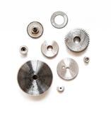 金属齿轮 库存图片