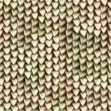金属龙标度无缝的纹理  爬行动物皮肤样式 库存照片