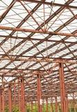 金属结构天花板 免版税库存图片
