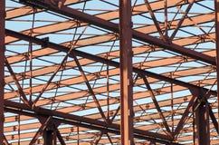 金属结构 免版税库存照片