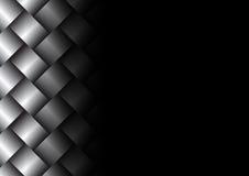 金属织法表面纹理背景 免版税图库摄影